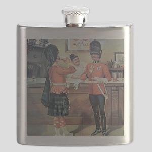 McEwans Ale Poster Flask