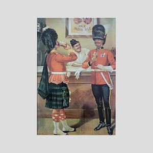 McEwans Ale Poster Rectangle Magnet