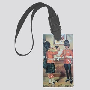 McEwans Ale Poster Large Luggage Tag