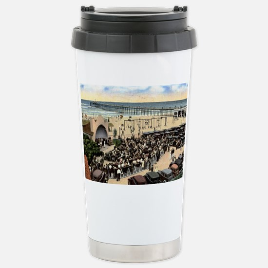 Oceanside (California)  Stainless Steel Travel Mug