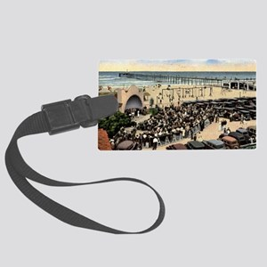 Oceanside (California) Beach Con Large Luggage Tag