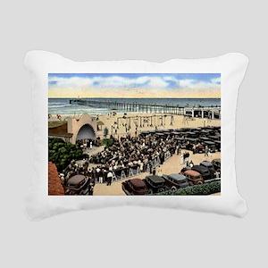 Oceanside (California) B Rectangular Canvas Pillow