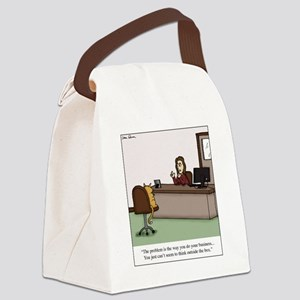 Do your business Canvas Lunch Bag