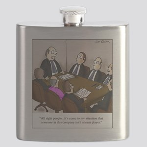 Team players Flask