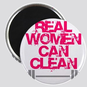 Real Women Can Clean (Pink) Magnet