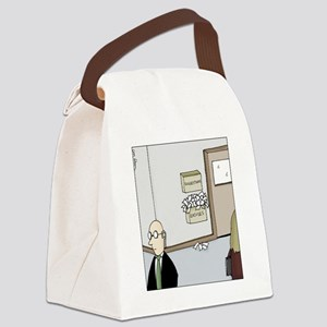 Excuses box Canvas Lunch Bag