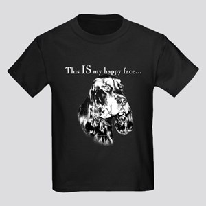 Gordon Happy Face Kids Dark T-Shirt