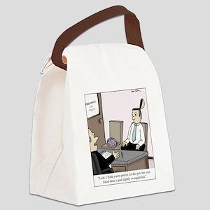 Brain Interview Canvas Lunch Bag