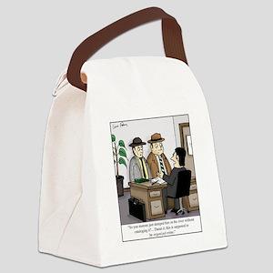 Organized Crime Canvas Lunch Bag