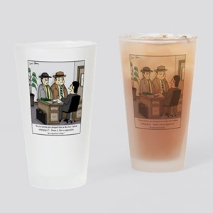 Organized Crime Drinking Glass