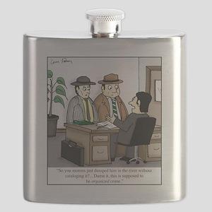 Organized Crime Flask