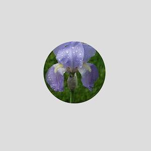 Tears of A Purple Iris Mini Button
