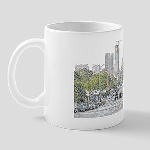 Austin_12.5X6.75_LicencePlateHolderDown Mug