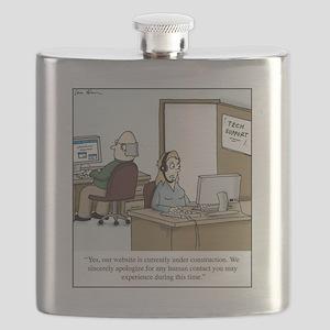 Human contact Flask