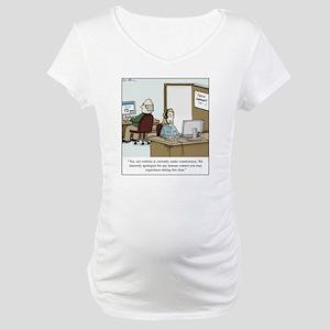 Human contact Maternity T-Shirt