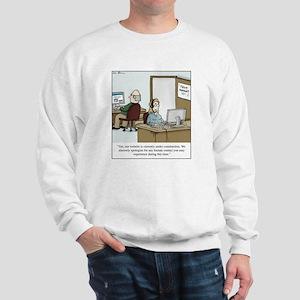 Human contact Sweatshirt