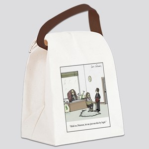 Run it by Legal Canvas Lunch Bag