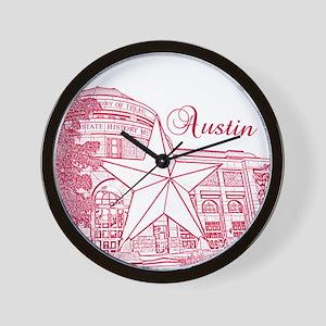 Austin_10x10_BullockTexasStateHistoryMu Wall Clock