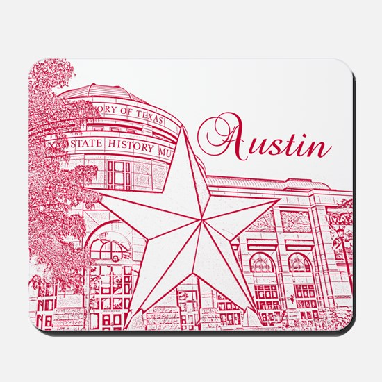 Austin_10x10_BullockTexasStateHistoryMus Mousepad