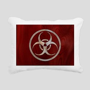biohaz-steelwood-OV Rectangular Canvas Pillow