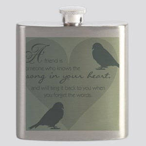 Bird Friends Flask