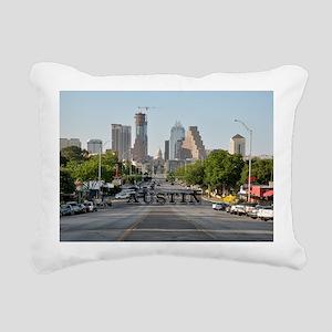Austin_Rect_Color_Downto Rectangular Canvas Pillow