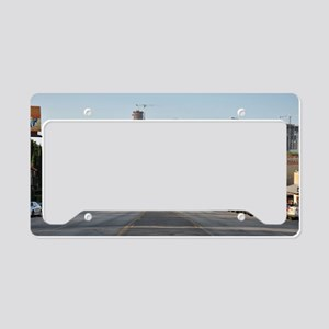 Austin_Rect_Color_DowntownWit License Plate Holder