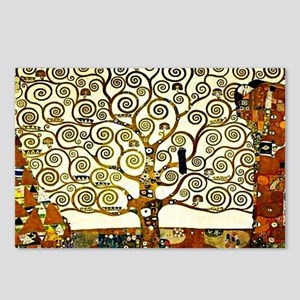 Klimt: The Tree of Life,  Postcards (Package of 8)