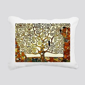 Klimt: The Tree of Life, Rectangular Canvas Pillow