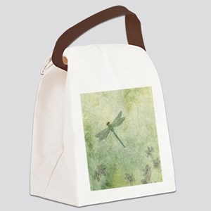 StephanieAM Dragonfly Canvas Lunch Bag