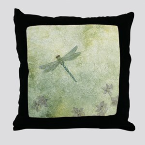 StephanieAM Dragonfly Throw Pillow