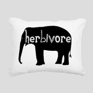 Elephant - Herbivore Rectangular Canvas Pillow