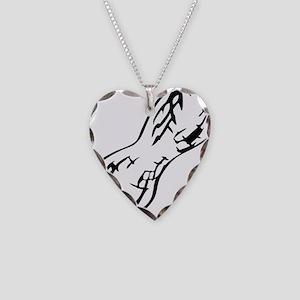 peanut Necklace Heart Charm