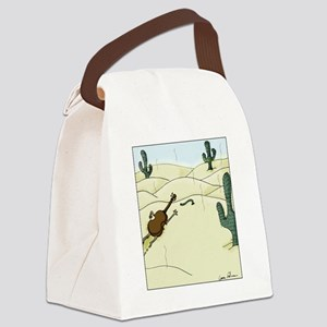 Dampit in the Desert Canvas Lunch Bag