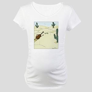 Dampit in the Desert Maternity T-Shirt