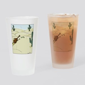 Dampit in the Desert Drinking Glass