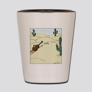 Dampit in the Desert Shot Glass