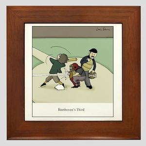 Beethovens Third Framed Tile