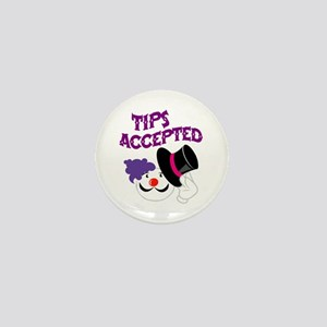 Tips Accepted Mini Button