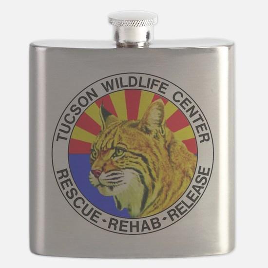 Tucson Wildlife Center New Logo Large Flask