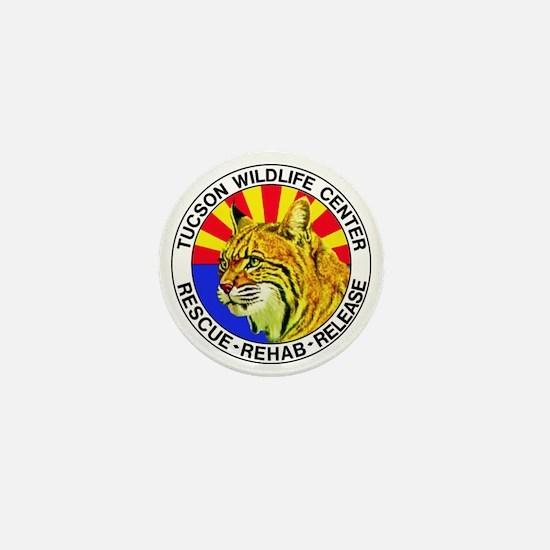 Tucson Wildlife Center New Logo Large Mini Button