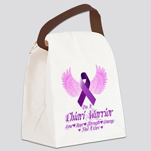 I'm A Chiari Warrior Canvas Lunch Bag