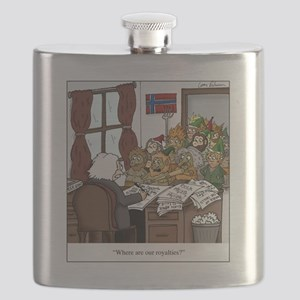 Grieg in Trouble Flask