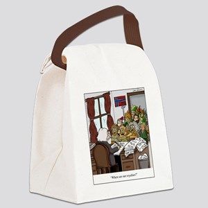 Grieg in Trouble Canvas Lunch Bag