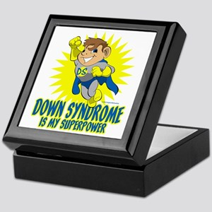 Down Syndrome Is My Superpower Keepsake Box