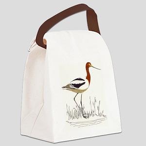 Avocet Canvas Lunch Bag