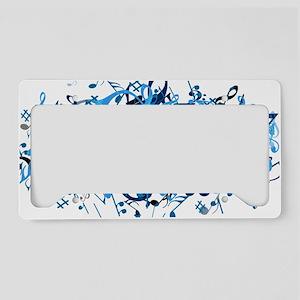 Music License Plate Holder