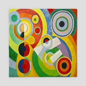 Robert Delaunay Rythme Cubist Queen Duvet