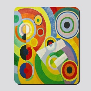 Robert Delaunay Rythme Cubist Mousepad