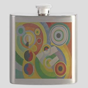 Robert Delaunay Rythme Cubist Flask